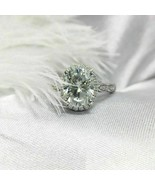 2.47Ct Round Cut  White Lab Diamond Engagement Ring  925 Starling Silver - $72.90