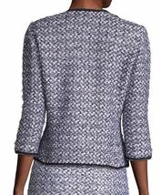 New with Tag - $1,695 St. John Nala Navy Multi Sequin / Tweed Jacket Size 4 image 3