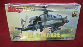 Revell Snap Tite Model Kit AH-64 Apache Helicopter 1:72 Scale Factory Se... - $24.74