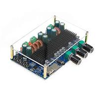 UCTRONICS Bluetooth 2.1 Channel Wireless 50W Subwoofer Amp Board - $29.15