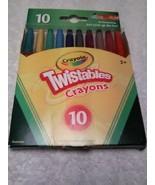 10CT Twistable Crayons   No 52-9715 - $2.99