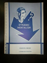 Dynamic Mentalism by Stanton Carlisle - Softcover - 1979 - Magic Instruc... - $15.84