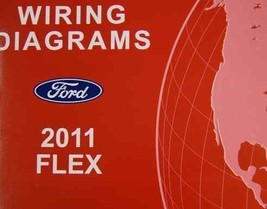 2011 Ford Flex Electrical Wiring Diagram Service Shop Repair Manual Ewd 2011 - $79.19