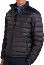 POLO RALPH LAUREN Men's Black Lightweight Packable Down Jacket Bleeker NEW - $199.99