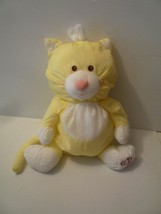 "PuffALump Yellow Cat Fisher Price 16"" Vintage Great Condition! Puff A Lump - $23.76"