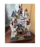 Disney Jim Shore TOWER OF FRIGHT  Villans castle figure doll Enesco Trad... - $531.63