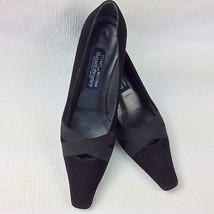 Stuart Weitzman Russell Bromley Ladies Black Suede Court Shoes UK 6.5 - $69.82