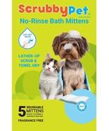 No Enjuague Mascota Toallitas Ideal para Baño, Cuidado Del Perro, y Lava... - $9.88
