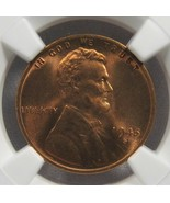 1945-S Lincoln Wheat Cent NGC MS6 RD Coin AG152 - $69.57