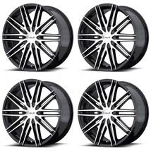 16x7 Helo HE880 Blank 42 Black Machine Wheels Rims Set(4) - $619.99