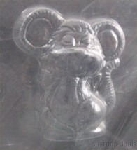 Cute Mouse Animal Chocolate Mold CybrTrayd Life Of The Party 3D A49 Cand... - $2.69