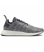 Adidas Men's NMD R2 UAS Core Heather/Matte Silver/White DA8834 - $197.95