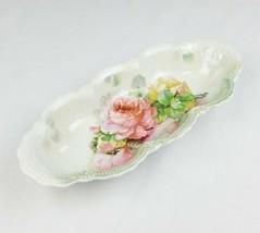 Vintage Leuchtenburg Germany Porcelana Apio Plato Decoración Hogar - $31.65