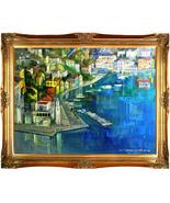 "Alex Zwarenstein-""Symi Reflection""-Custom Framed Original Oil/Canvas/Sig... - $16,363.75"