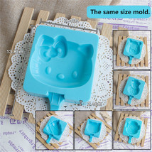 Silicone Ice Cream Mold Cake Cholocate Molds Maker Holder Popsicle Stick... - $6.09 CAD