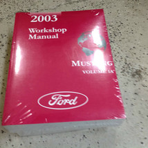 2003 Ford Mustang Gt Cobra Mach Service Shop Repair Workshop Manual BRAN... - $178.19