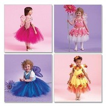 McCalls 5950 Girls 1 to 3 Fairy Ballet Tutu Princess Child  - $8.95