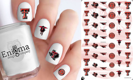 Texas Tech Red Raiders Nail Decals (Set of 50) - $4.95