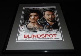 Blindspot 2016 NBC 11x14 Framed ORIGINAL Advertisement Jaimie Alexander B - $32.36