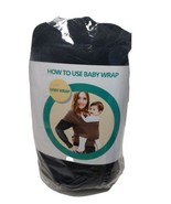 Made To Be Happy Baby wrap Hands Free Swaddle. Newborn 35 Pounds Cotton ... - $8.81