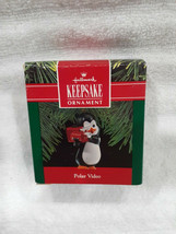 Vintage Hallmark Keepsake Polar Video Ornament - Dated 1990. - $15.00