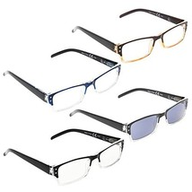 READING GLASSES 4 pack Include Sunshine Readers +2.75 - $12.67