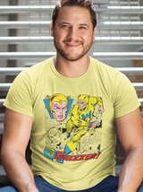 The Whizzer T Shirt Golden Age Marvel Comics Liberty Legion All Winners tee image 3