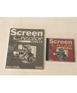 Screen Creator Deluxe 7 CD-ROM PC Computer Software for Windows - $9.99