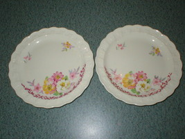 2 Taylor Smith Taylor TST Pink Yellow White Flowers 9392 Bread & Butter ... - $8.29