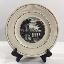 Wedgwood Etruria, England, Vintage Porcelain Plate, Roman Scene (numbered) - $23.71