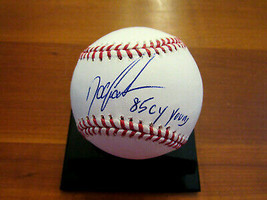 DWIGHT GOODEN DOC 1985 CY YOUNG METS YANKEES SIGNED AUTO OML BASEBALL JSA  - $89.09