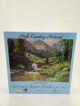 Suns Out High Country Hideout Puzzle 500 Piece Jigsaw Sealed Mark Keathley - $12.19