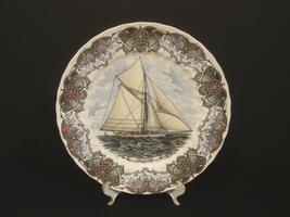 "Churchill Currier & Ives Tall Ships Plate 10""- SS  Volunteer - $7.99"