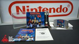 Lutte Force 64 Nintendo 64 Pal Complet VG Condition Rapide - $404.50