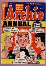 Archie Annual #5 1953-GIANT-BETTY-VERONICA-JUGHEAD-REGG Fn - $181.88