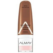 Almay Best Blend Forever Makeup Foundation 1 Oz SPF 40 Sealed New Mocha 210 - $5.91