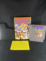Dr. Mario NES 1990 Video Game Cartridge with box inner box No Manual - $16.92