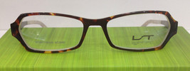 Lightec 6675L TB 001 Tortoise Plastic Eyeglasses Frame 50-16-135 New Aut... - $83.66