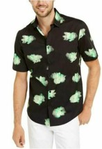 Alfani Men's Printed Abstract Classic Fit Stretch Button-Down Top MEDIUM NEW W/T image 1