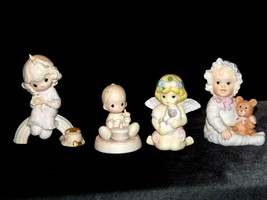 Precious Figurines Moments 4 Pieces AA-191706  Vintage Collectible