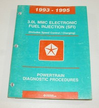 1993-1995 Chrysler Dodge 3.0L MMC Electronic Fuel Injection (SFI) Service Manual - $11.83