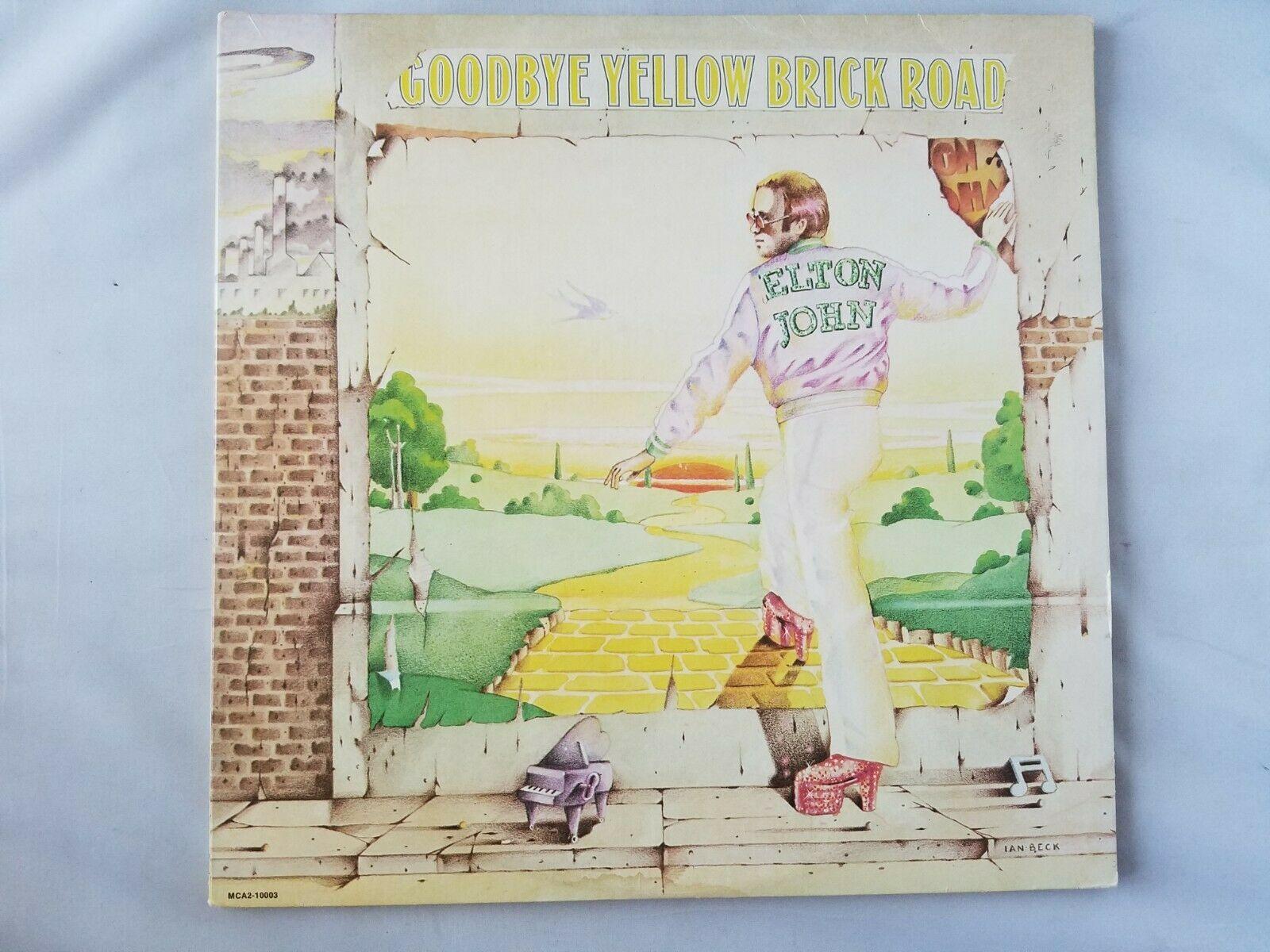 Elton Juan Yellow Brick Road Disco de Vinilo Clásico 1973 MCA Records