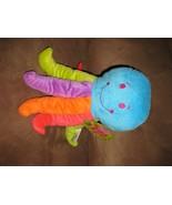 "OCTOPUS COLORFUL LEGS Brand New Plush NWT Stuffed Animal w/ Tags 10"" SUG... - $7.99"