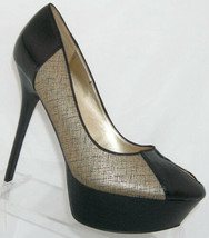 Sam Edelman SE Boutique Nathon man made teardrop platform heels 10M - $31.90