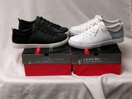Skechers Womens 7 7.5, 8.5, 9, 9.5 10 Street Moda Sneakers Leather/Suede... - £26.79 GBP