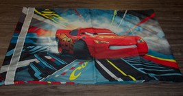 WALT DISNEY CARS LIGHTNING MCQUEEN & LEWIS HAMILTON PILLOW CASE PILLOWCASE - $14.85