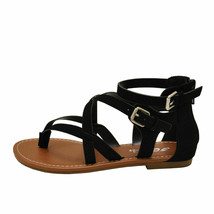 Soda PERFECT-S Black Women's Strappy Criss Cross Gladiator Sandals - $28.95+