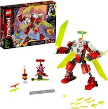 New LEGO NINJAGO 71707 Kai's Mech Jet Toy Plane Building Kit Free Shipping - $15.99