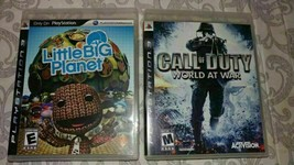 PlayStation 3 : Little Big Planet & Call of Duty World at War Video Games - $28.77