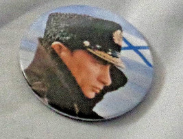 """Vladimir Putin Russia Pin Pinback Round on tin 2 1/4"""" wide with Russian on side - $9.03"""